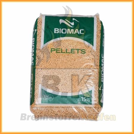 BIOMAC Pellets Classic A1 - 1 Sack 15 kg