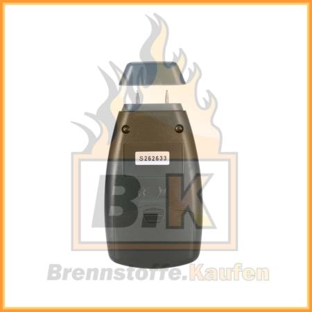 Feuchtigkeitsmessgerät für Holz Rückseite