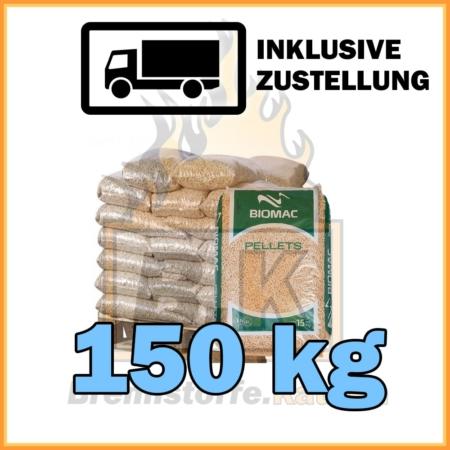150 kg Holzpellets kaufen - 10 Säcke