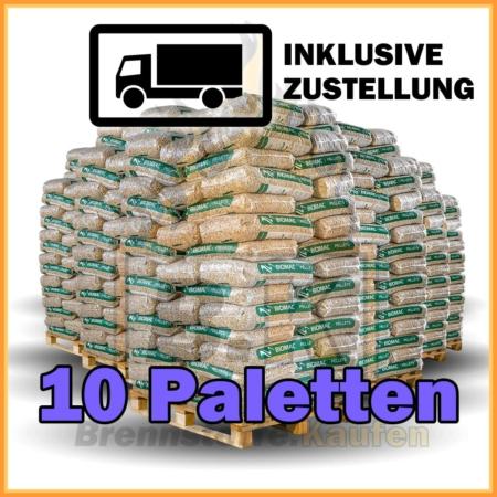 Holzpellets 10 Paletten