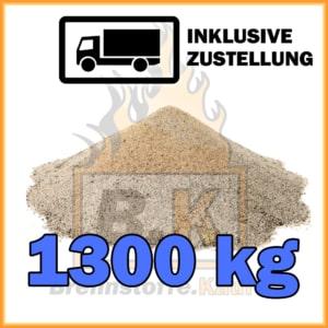1300 kg Quarzsand mit Lieferung