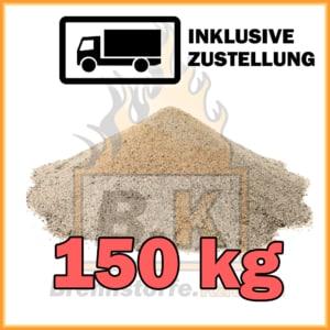 150 kg Quarzsand mit Lieferung