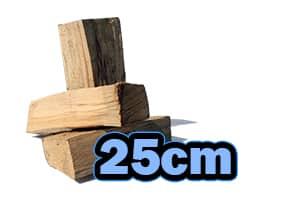 Kaminholz 25 cm Holzscheit Länge