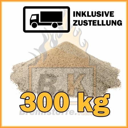 300 kg Quarzsand mit Lieferung