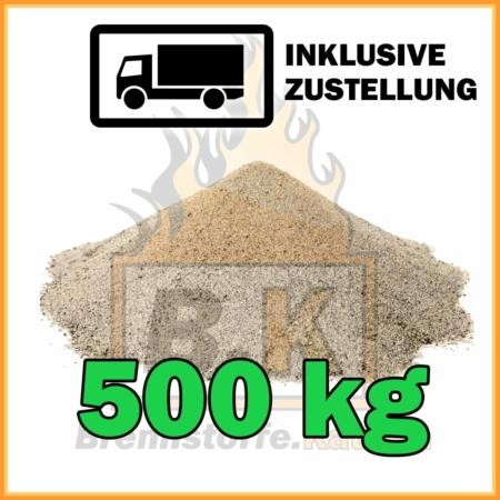 500 kg Quarzsand mit Lieferung