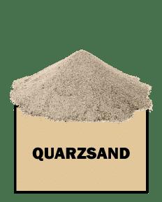 Quarzsand Übersicht Icon