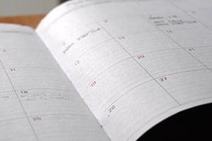 Bestellung von Brennholz und Brennstoffe mit Kalenderfunktion