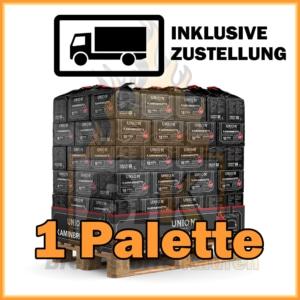 1 Palette Union Briketts - Kaminbriketts mit Lieferung