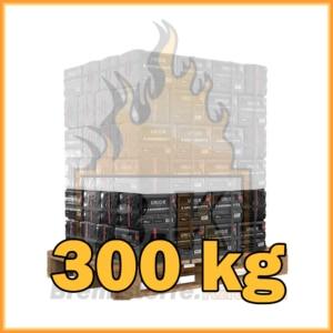 300 kg Union Kaminbriketts mit Lieferung