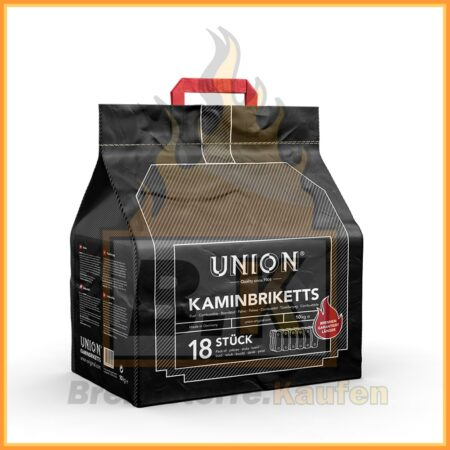 Union Briketts - Kaminbriketts - 10 kg Paket- elegant