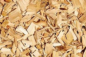 Saubere Holzspäne