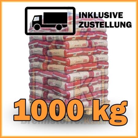 1000 kg Pellets kaufen - 100 % Fichtenholz mit Lieferung - MM royalpellets