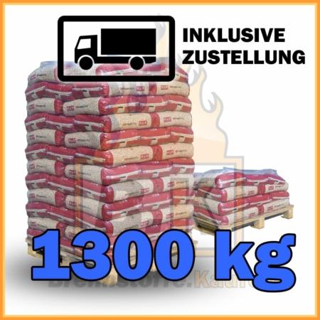 1300 kg Pellets kaufen - 100 % Fichtenholz mit Lieferung - MM royalpellets