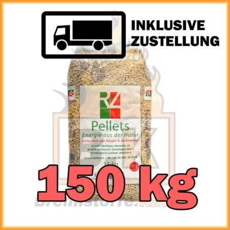 150 kg RZ Pellets 15 kg Sackware mit Lieferung