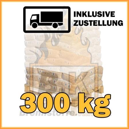 300 kg RZ Pellets 15 kg Sackware mit Lieferung