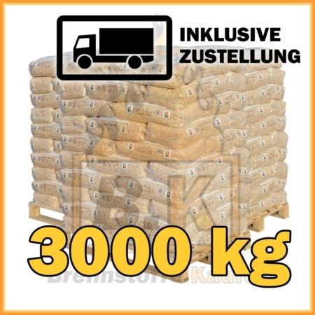 3000 kg RZ Pellets 15 kg Sackware mit Lieferung