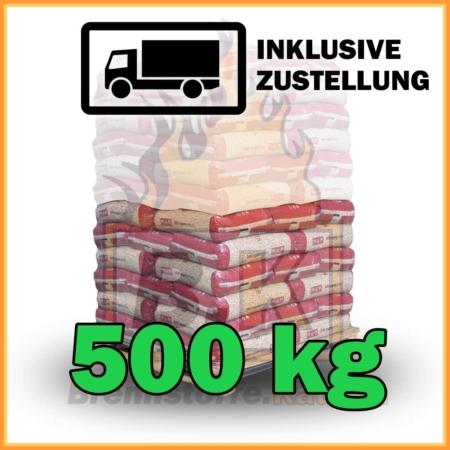 500 kg Pellets kaufen - 100 % Fichtenholz mit Lieferung - MM royalpellets