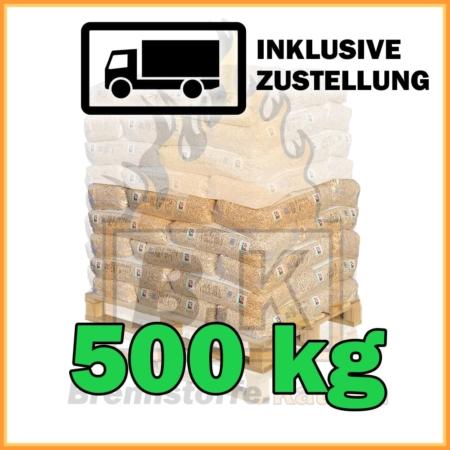 500 kg RZ Pellets 15 kg Sackware mit Lieferung