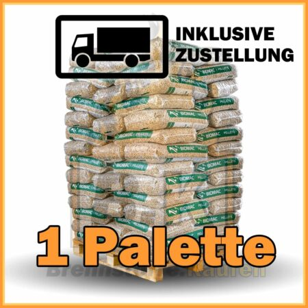 1 Palette BIOMAC Pellets mit Lieferung