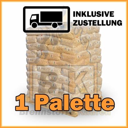 1 Palette RZ Pellets mit Lieferung