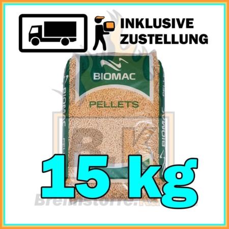 BIOMAC Pellets 15 kg mit Lieferung