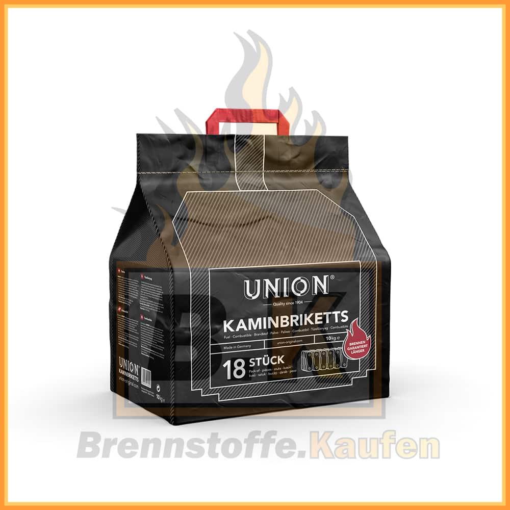 Union Braunkohlebriketts mit Lieferung