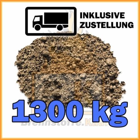 1300 kg Rasenerde mit Lieferung