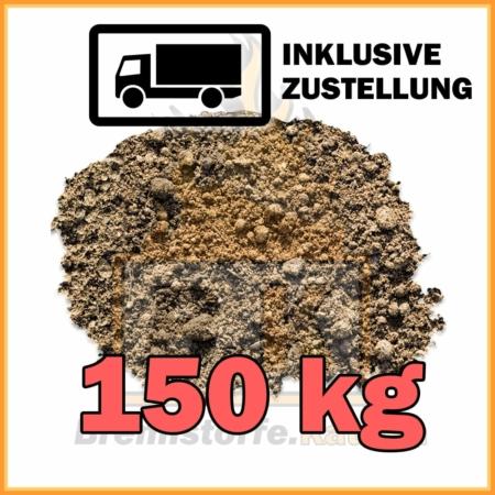 150 kg Rasenerde mit Lieferung