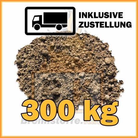 300 kg Rasenerde mit Lieferung