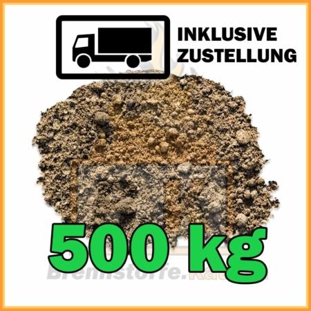 500 kg Rasenerde mit Lieferung